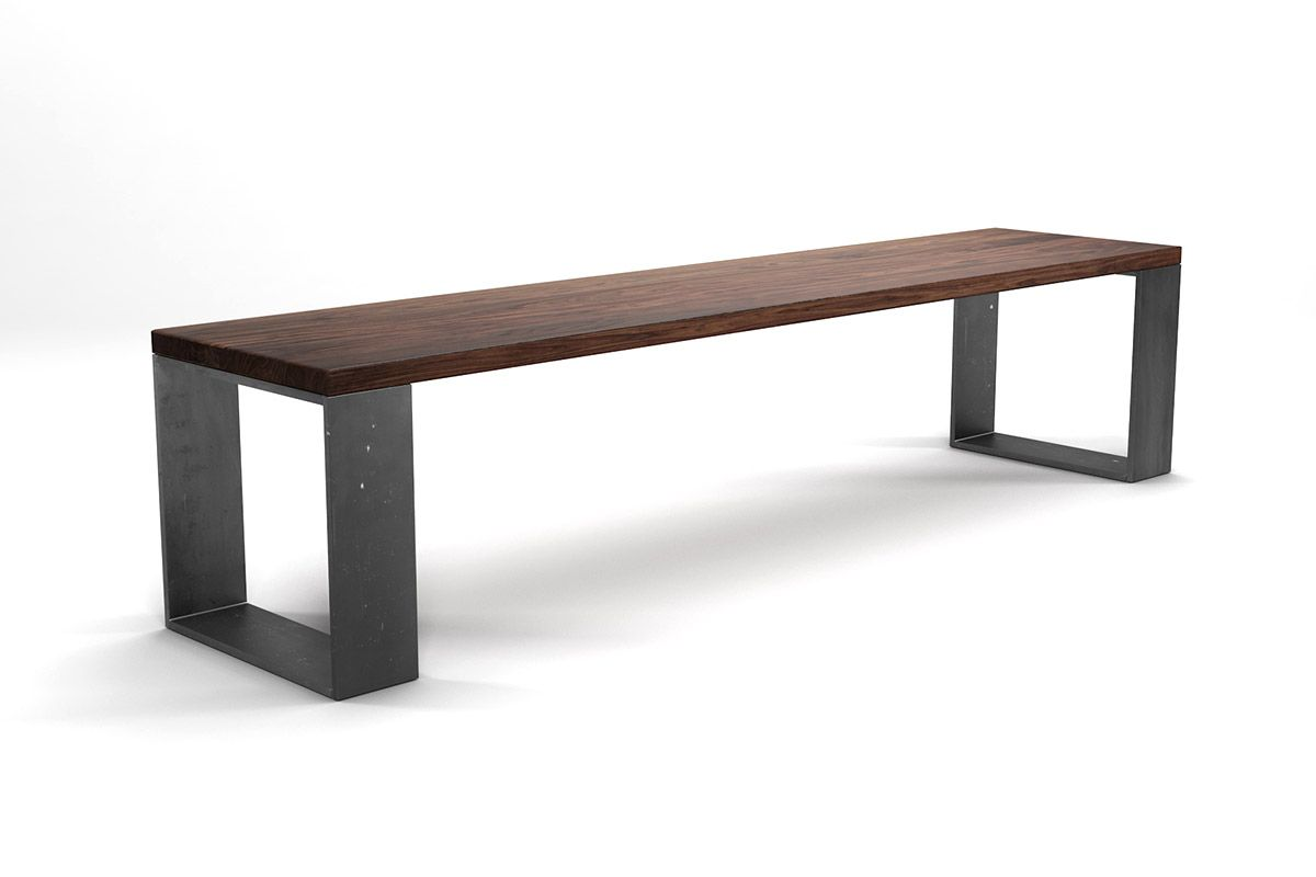 massivholz sitzbank nussbaum nach ma holzpiloten. Black Bedroom Furniture Sets. Home Design Ideas