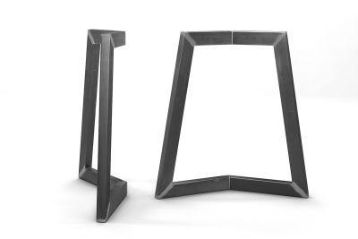 Stahl Kufengestell nach deinem Maß gefertigt, erhältlich im 2er Set.